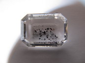 18 CT Emerald Cut Quartz Lepidocrocite