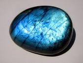 Top AAA Flash Grade Labradorite Pebble, Palm Stone